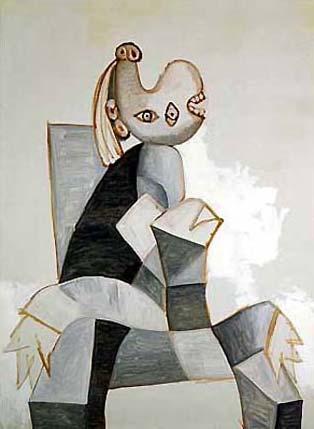 mujer-sentada-en-un-sillon-gris-picasso1