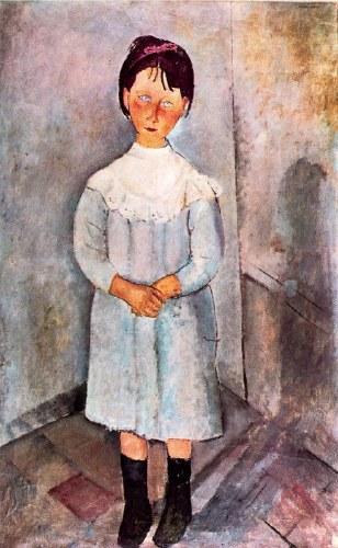 Niña en azul. Modigliani