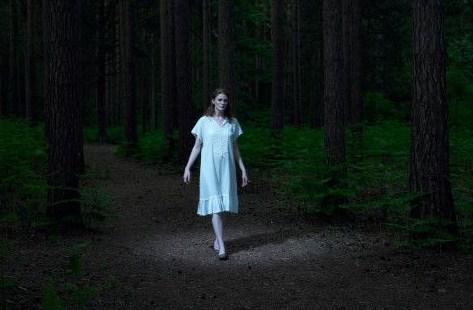 mujer de noche