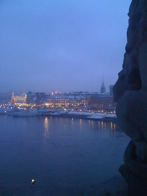 Estocolmo visto desde hotel