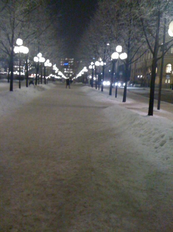 Paseando por Estocolmo
